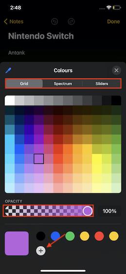 Использование новых инструментов разметки в iOS 14