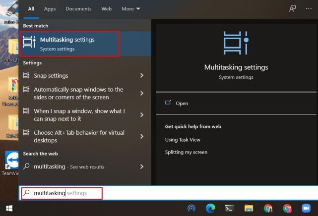 Eliminar las pestañas de Microsoft Edge de Alt + Tab Switcher