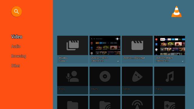 Воспроизведение локальных медиафайлов на Android TV