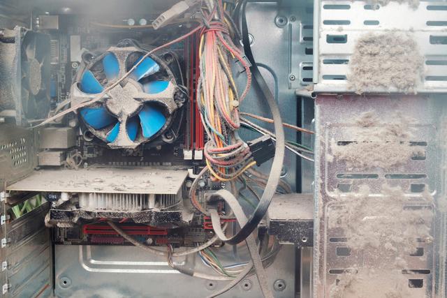 Проверить температуру процессора на пыльном ПК