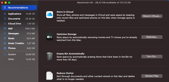 Удалите беспорядок на вашем Mac