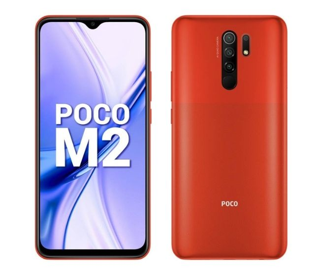 Poco M2 - дешевый бюджетный игровой смартфон в Индии