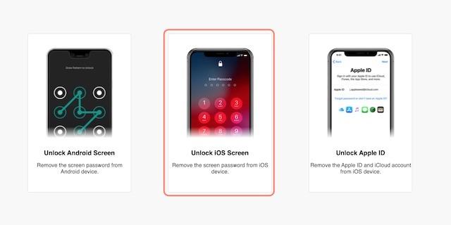 Шаги по разблокировке и восстановлению заблокированных устройств iOS с помощью Dr.Fone 3