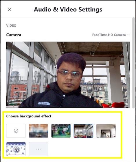 agregar un fondo virtual para las videollamadas de Skype