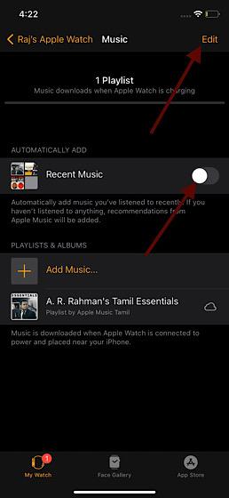 Deaktivieren Sie die automatische Synchronisierung von Apple Music