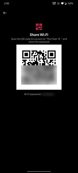 qr-кодовая страница wi-fi