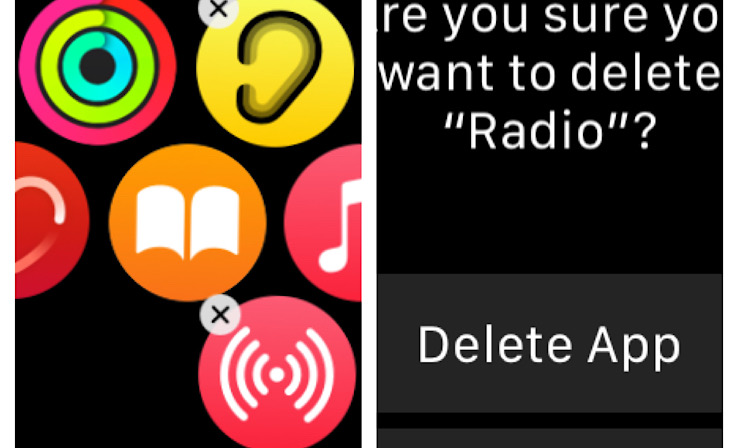 Eliminar aplicaciones en Apple Watch