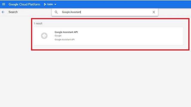 API Google Assistant из библиотеки API