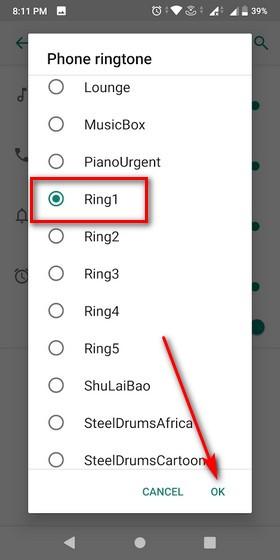 Cómo configurar cualquier canción como tono de llamada personalizado en Android