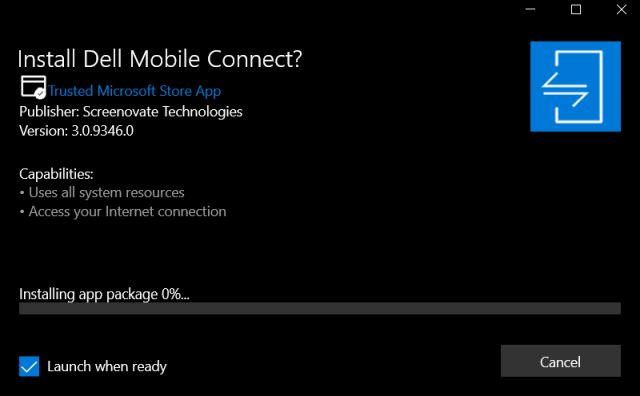 Utilice Dell Mobile Connect en cualquier PC con Windows 10 (2021)