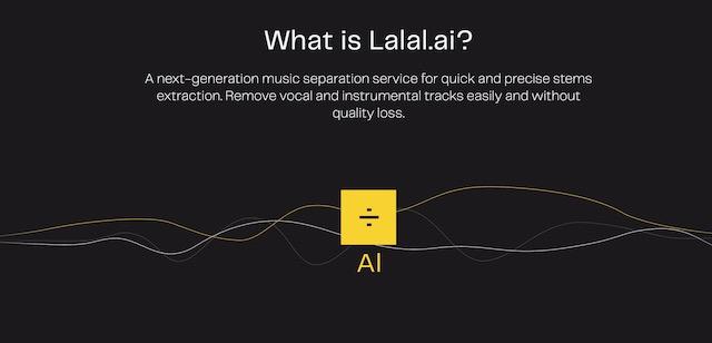 Что такое Lalal.ai?