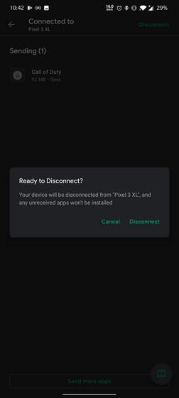 desconectar dispositivo