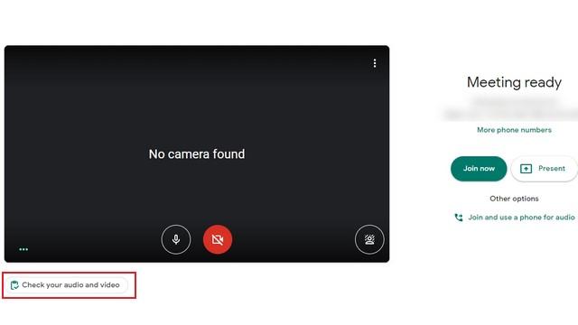 Google Meet зал ожидания