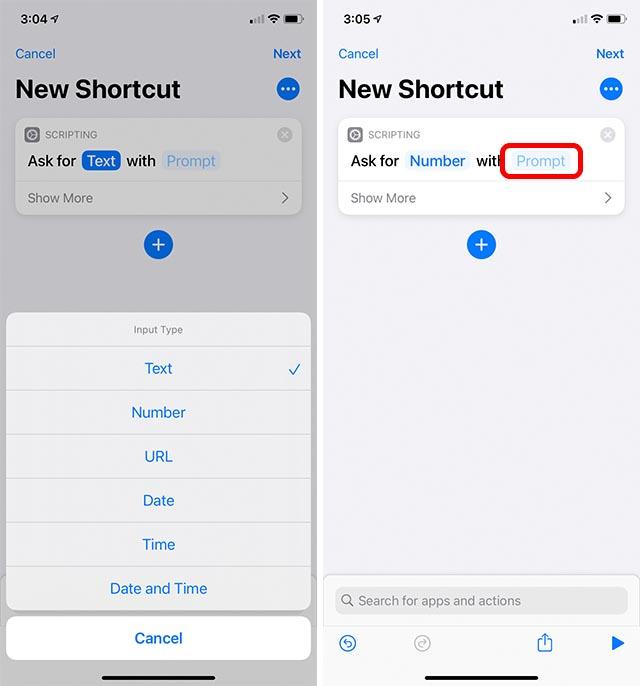 заблокировать приложения для iOS, шаг 2