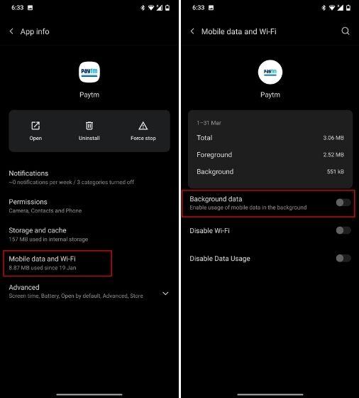 Запретить приложениям Android использовать данные в фоновом режиме (2021 г.)
