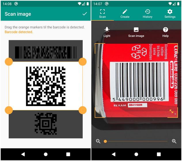 Считыватель QR и штрих-кодов от TeaCapps