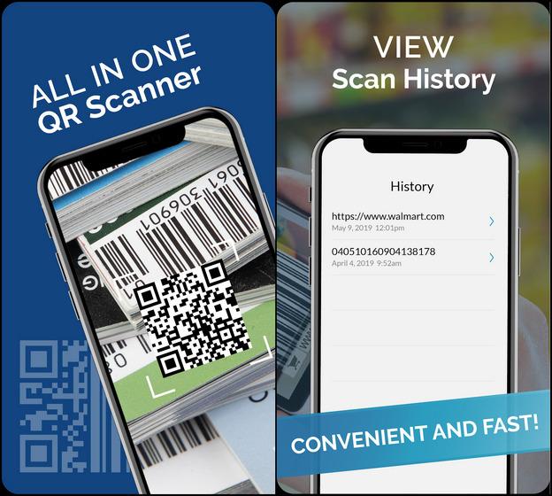Бесплатный сканер штрих-кода QR: QR-сканер / считыватель QR-кода