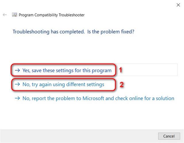 Средство устранения неполадок совместимости с Windows 10
