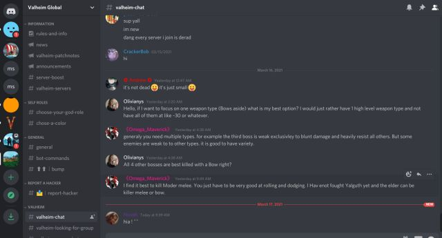 Лучшие серверы Discord для Valheim (2021)
