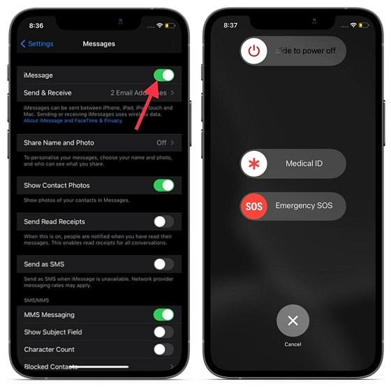 Решения для устранения проблемы с активацией iMessage на iPhone и iPad