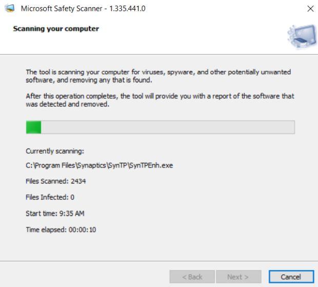 Что такое сканер безопасности Microsoft