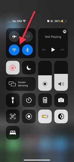 Schalten Sie WLAN und Bluetooth aus oder ein