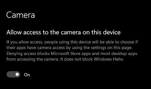 ¿La cámara no funciona en Windows 10?  Encuentre todas las soluciones aquí (2021)