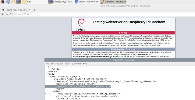 Configurar un servidor web Raspberry Pi (2021)