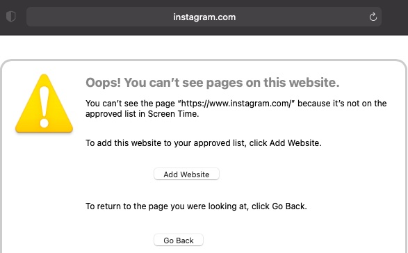 Sitios web bloqueados en Safari: cómo bloquear sitios web en Safari en iPhone y Mac