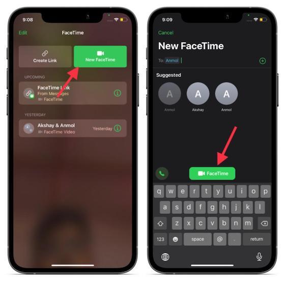 Neues FaceTime - So verwenden Sie die Bildschirmfreigabe in FaceTime unter iOS 15