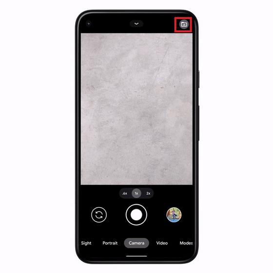 icono de carpeta cámara de píxeles