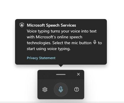 Habilitar y usar el dictado por voz en Windows 11 (2021)