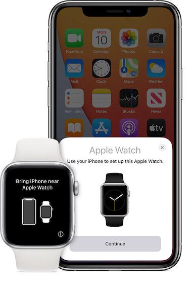 Emparejar Apple Watch con iPhone