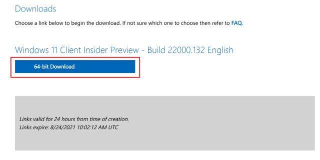 Descargue la imagen ISO de Windows 11 del sitio web de Microsoft