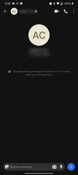 Descripción de mensajes de desaparición de señales
