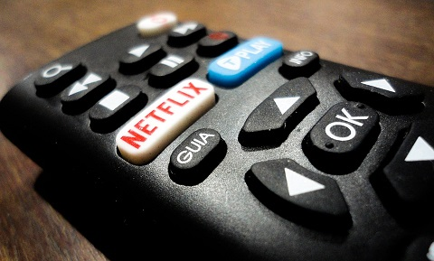 Afstandsbediening Netflix