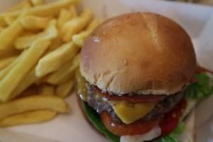 Bacon- cheeseburger menu La Place