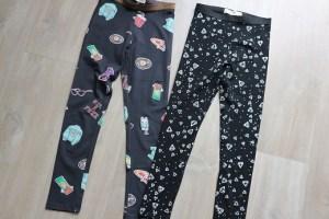 Shoplog herfstcollectie meisjes 2018 legging Mango zwart en antraciet