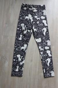 Shoplog herfstcollectie meisjes 2018 legging met poezenprint Zara