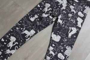 Shoplog herfstcollectie meisjes 2018 poezenprint legging Zara