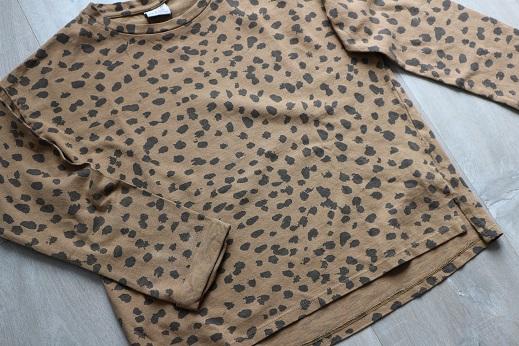 Shoplog herfstcollectie meisjes 2018 shirt met panterprint Zara
