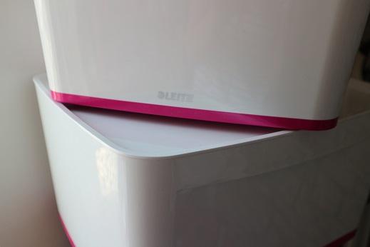 Leitz MyBox roze accenten