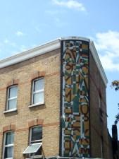 Mosaic mural Bellenden Road
