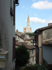 The old town Nerac France