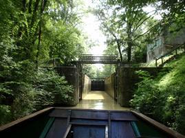 L'ecluse de Nazareth Baise River France