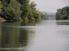 The river Dordogne Bridge built by Gustave Eiffel