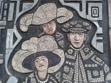 History of the Old kent road frieze pearly kings and queens