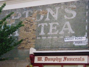 Liptons tea ghost sign Barset Rd Nunhead