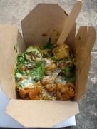 Mixed thali from Borough Market