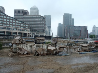 Not all of Canary Wharf is developed!